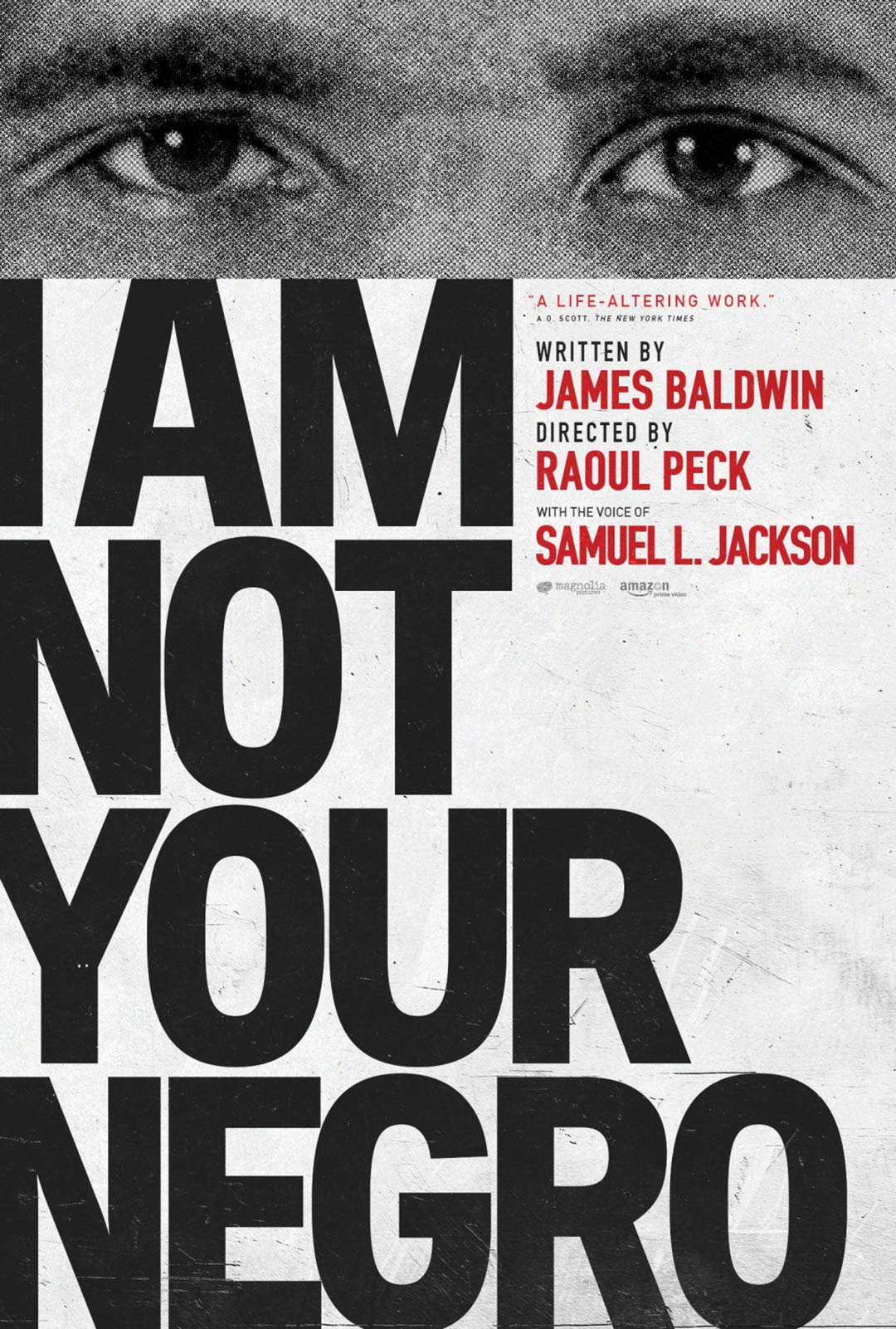 I Am Not Your Negro Poster #3