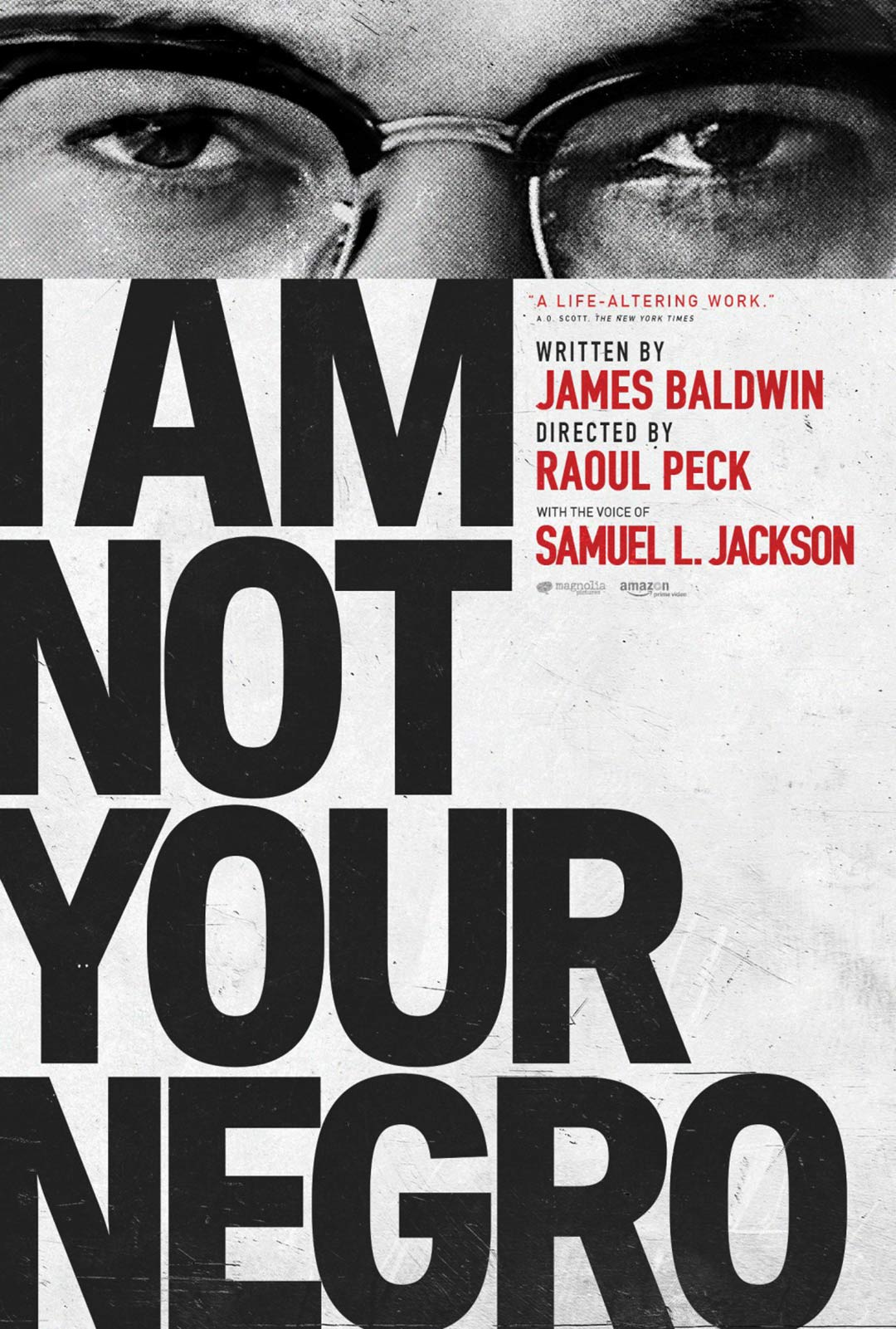 I Am Not Your Negro Poster #4