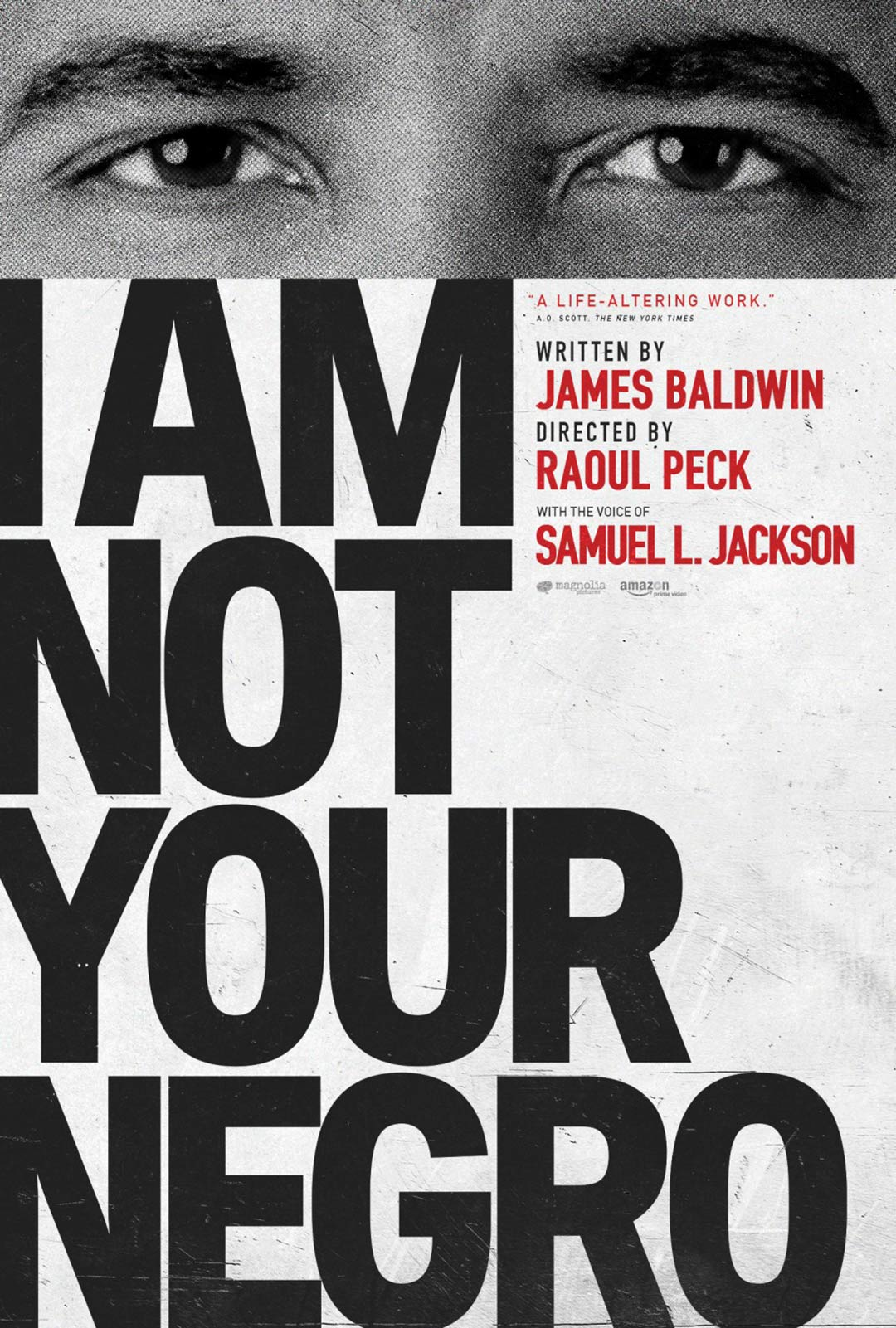 I Am Not Your Negro Poster #5