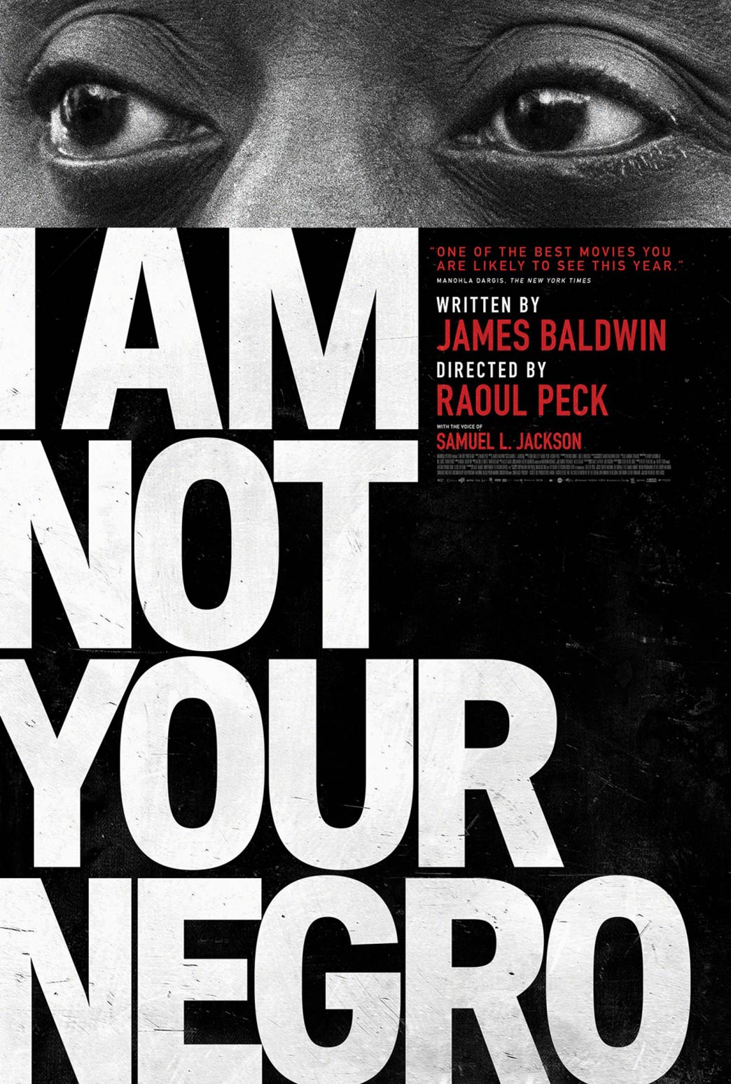 I Am Not Your Negro Poster #1