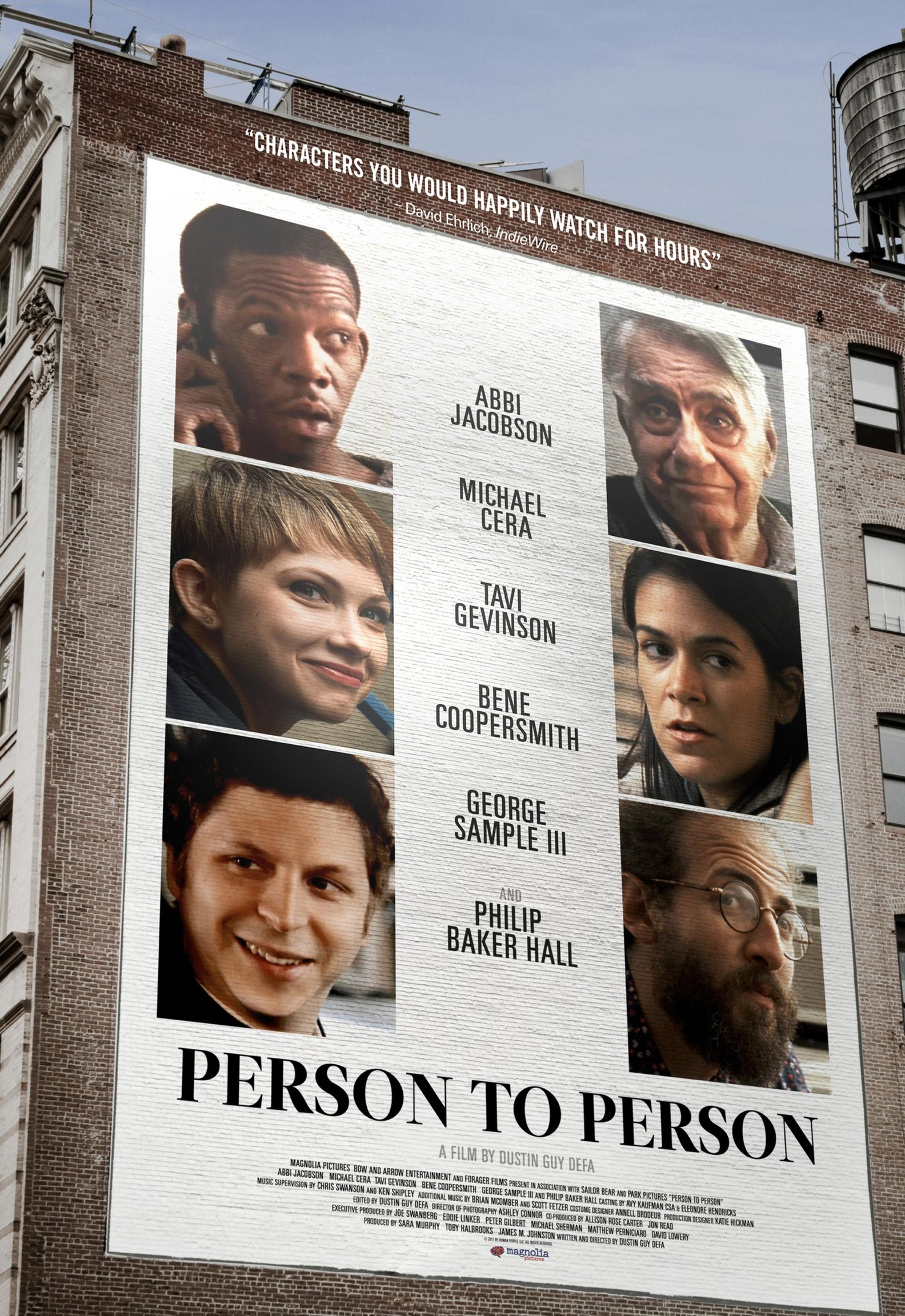 Person to Person Poster #1
