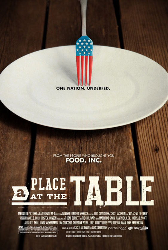 A Place at the Table Poster #1