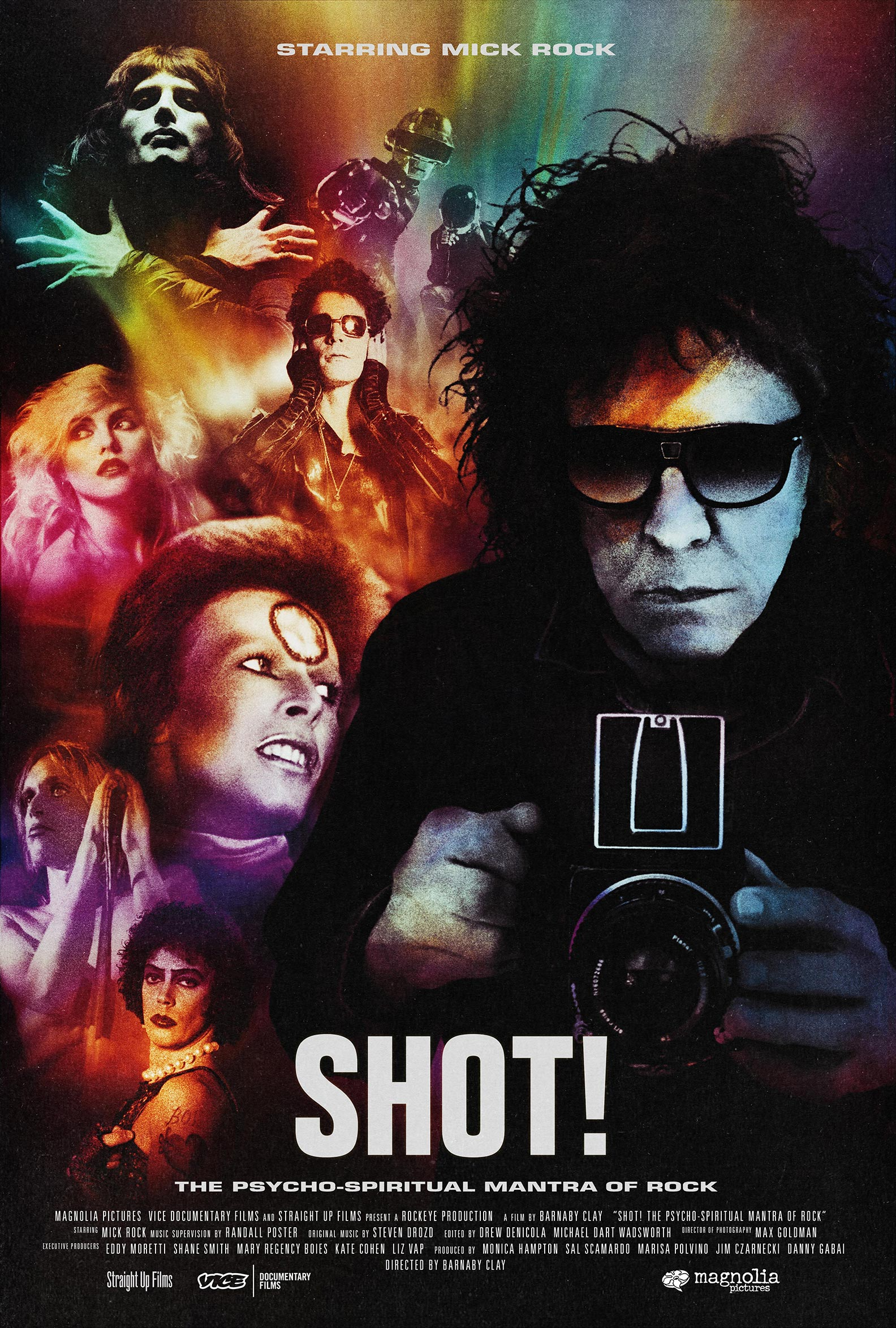 SHOT! The Psycho-Spiritual Mantra of Rock Poster #1