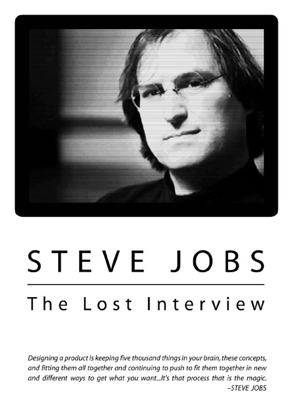 Steve Jobs: The Lost Interview Poster #1