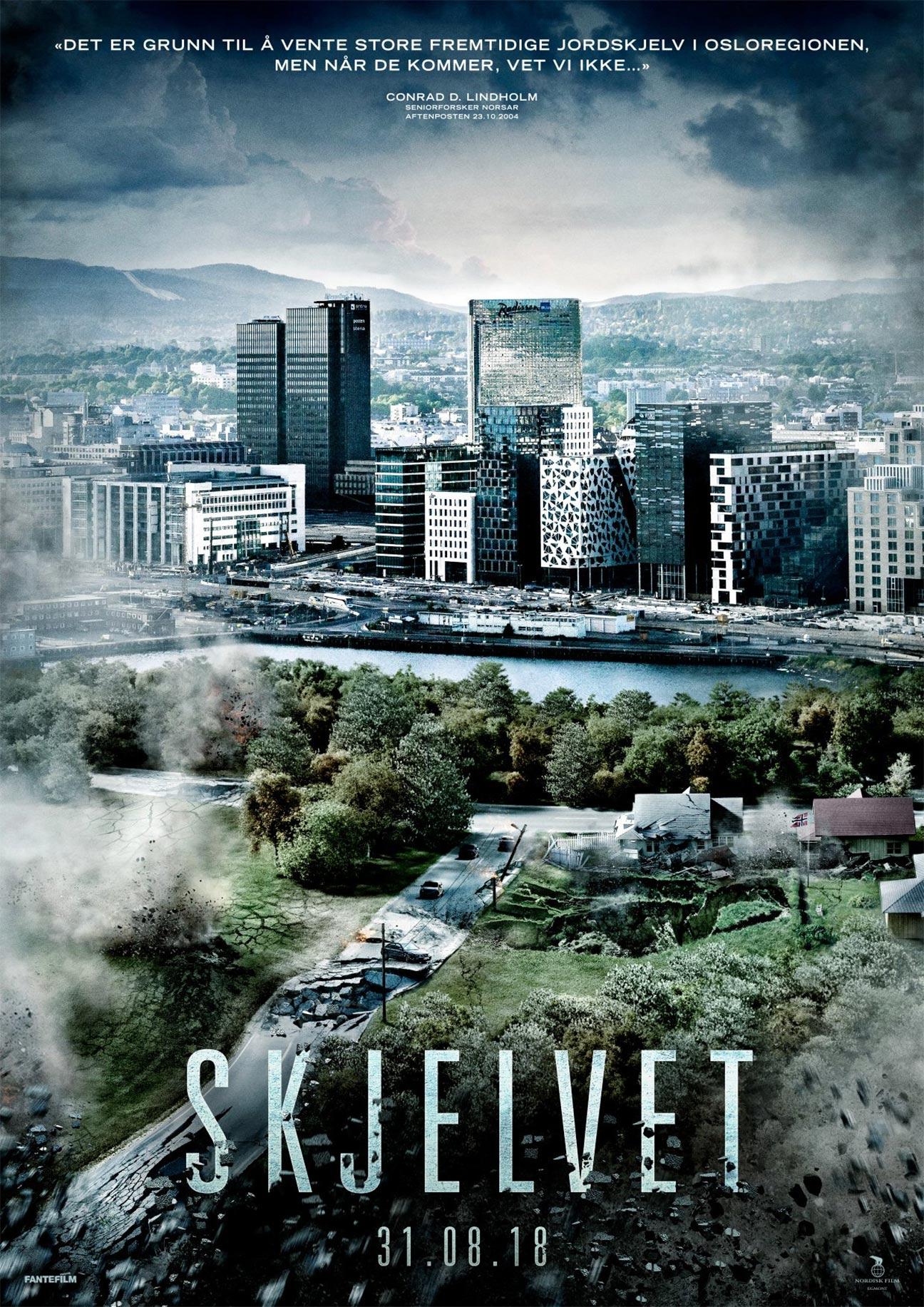 the quake 2018 poster 1 trailer addict
