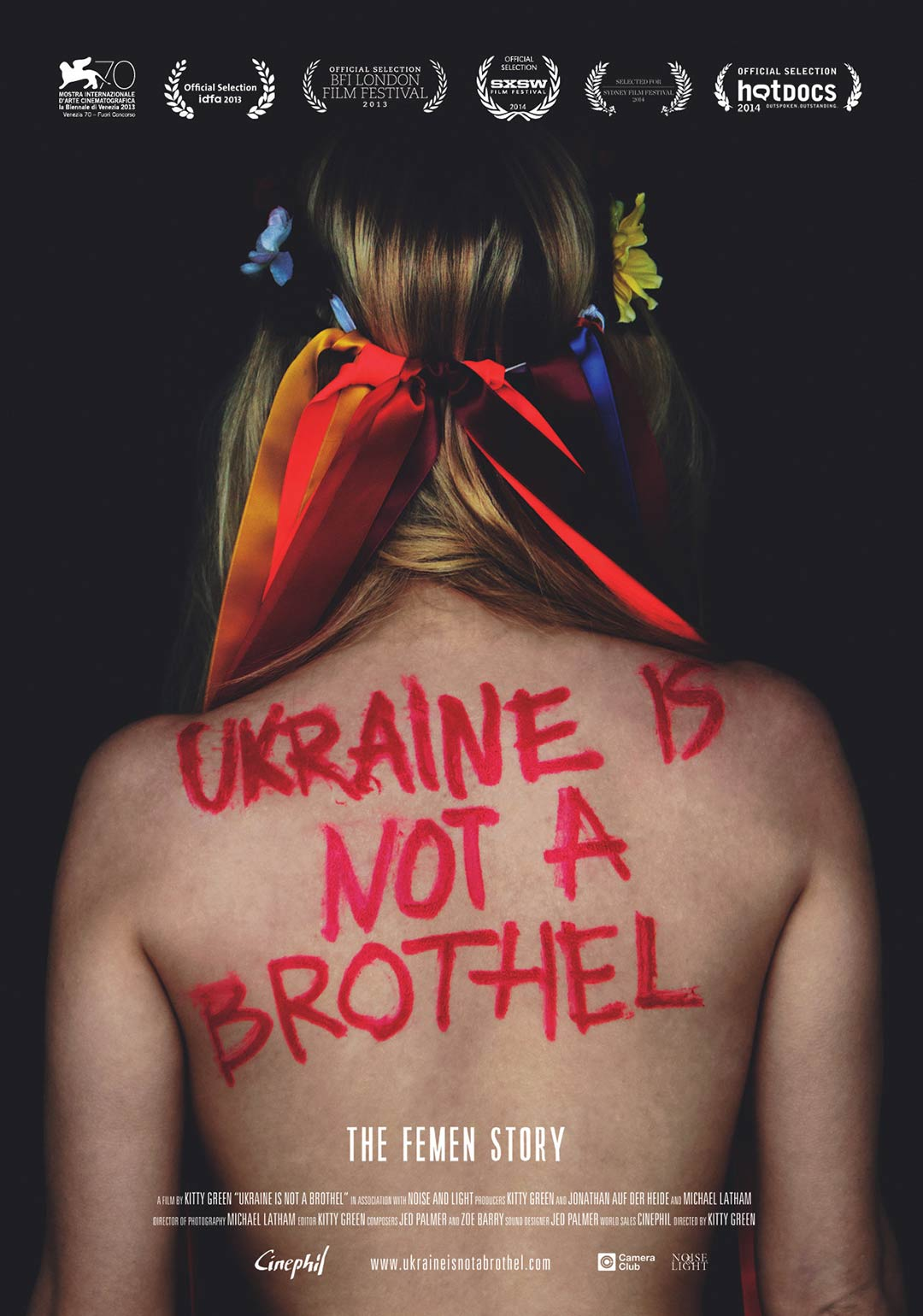 Ukraine Is Not A Brothel Poster #2