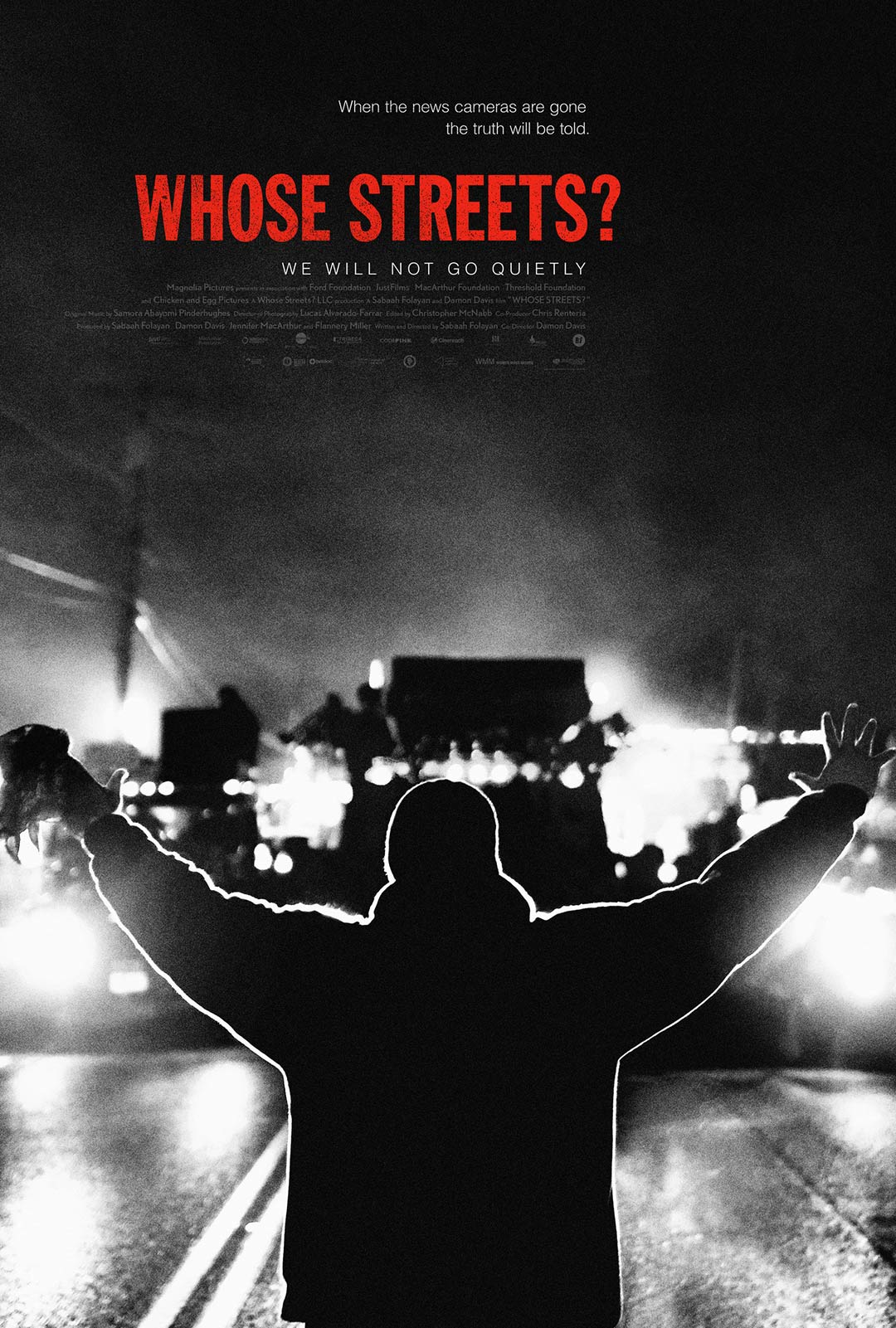 Whose Streets? Poster #1