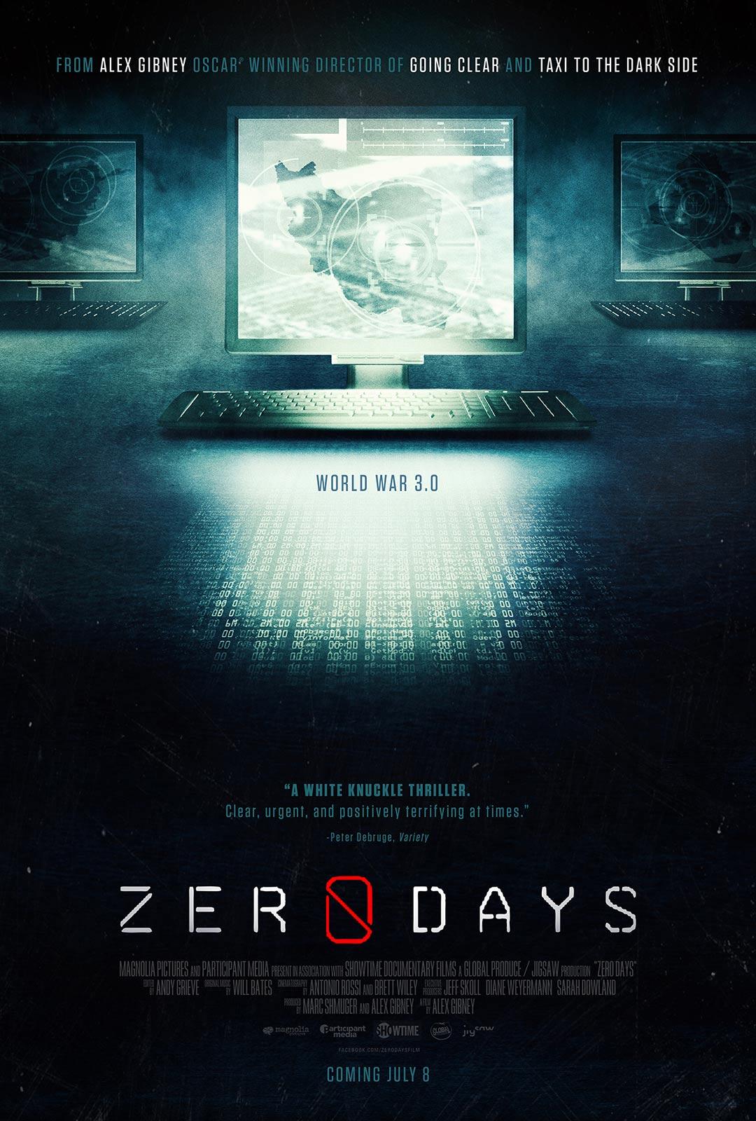 Zero Days Poster #1