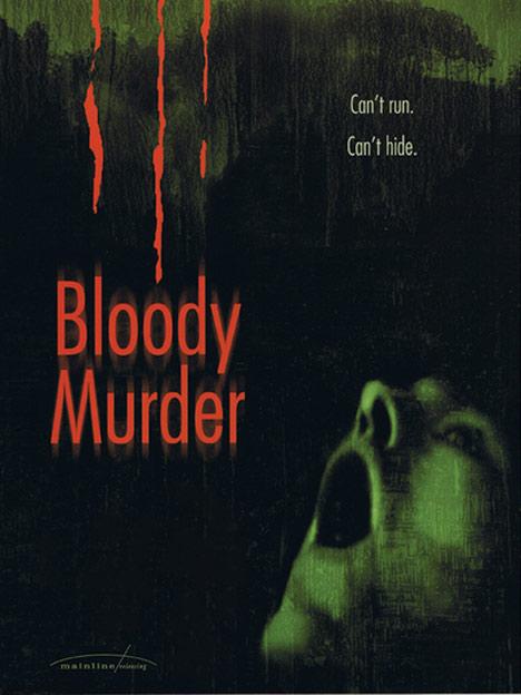 Bloody Murder Poster #1