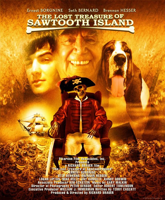 The Lost Treasure of Sawtooth Island Poster #1