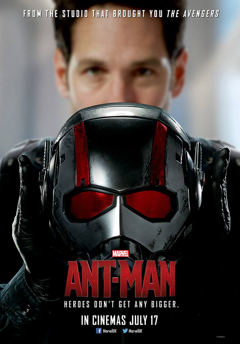 antman 2015 poster 1 trailer addict
