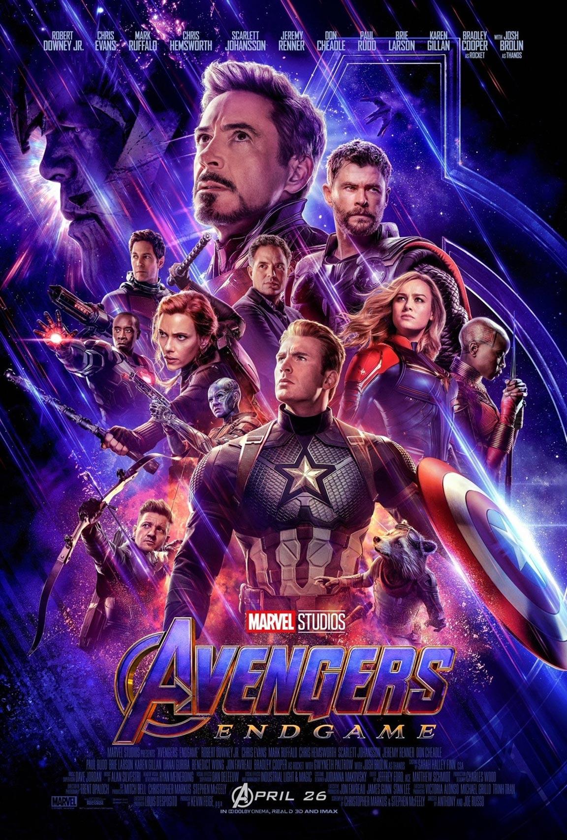Avengers: Endgame Poster #2