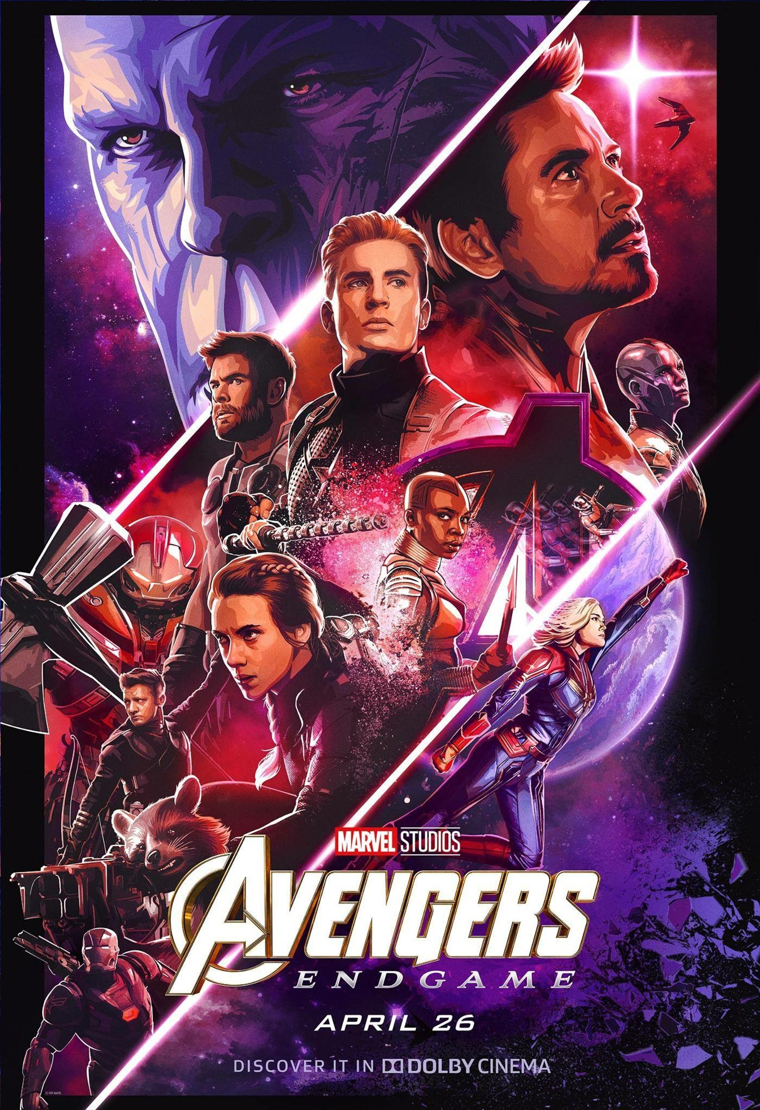 Avengers: Endgame Poster #35