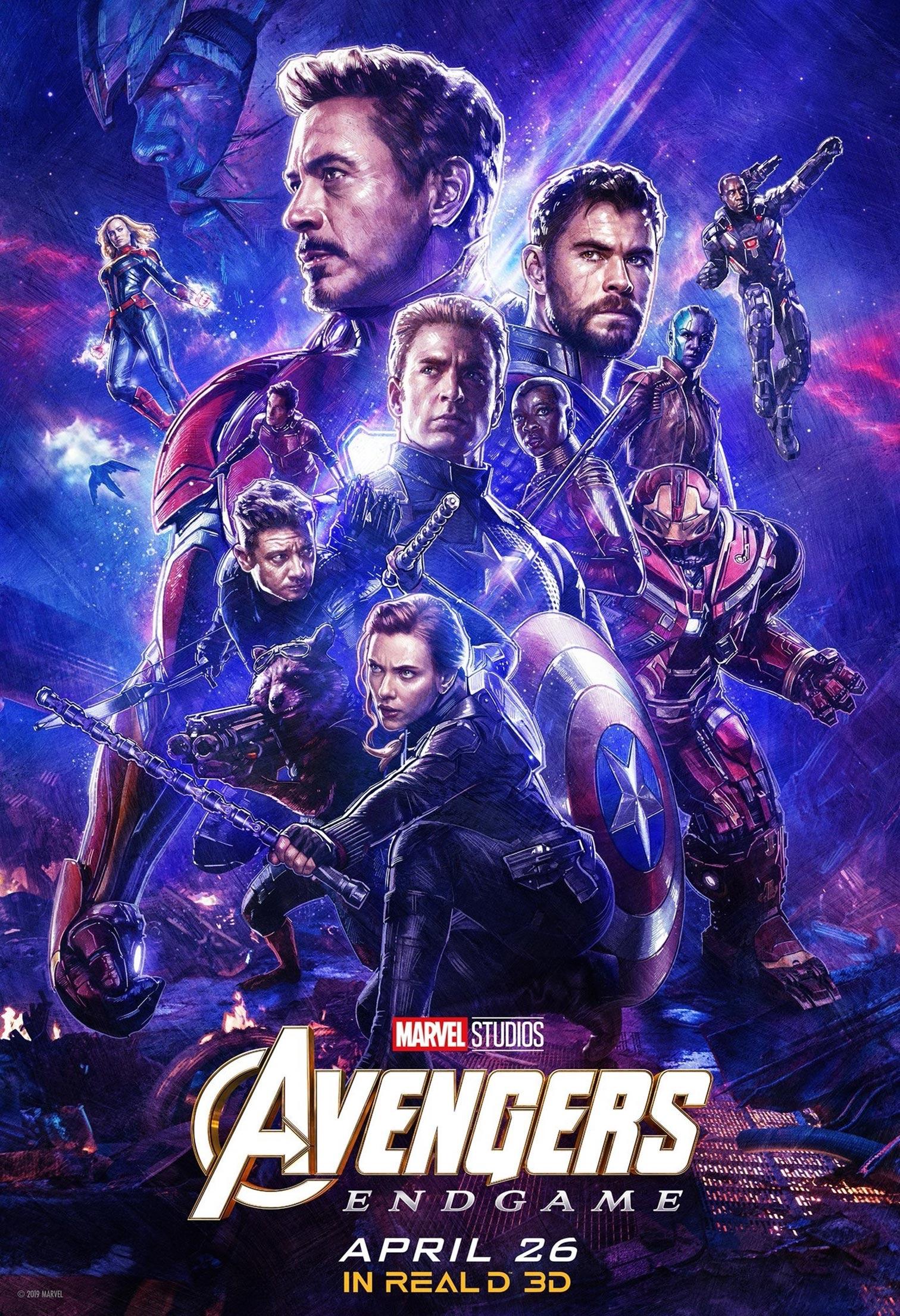 Avengers: Endgame Poster #36
