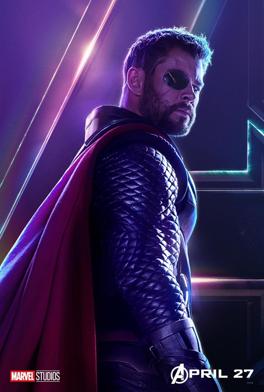 Avengers: Infinity War Poster #13