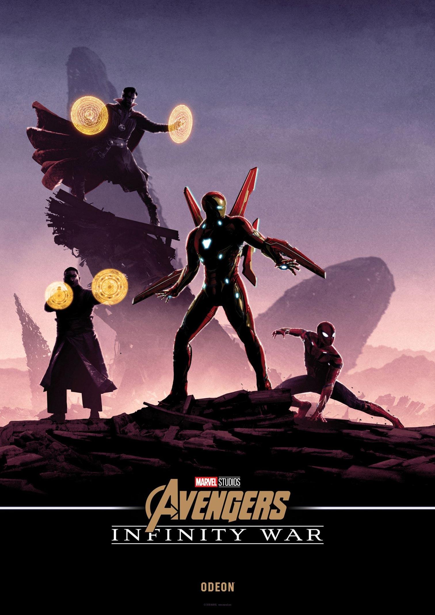 Avengers: Infinity War Poster #31