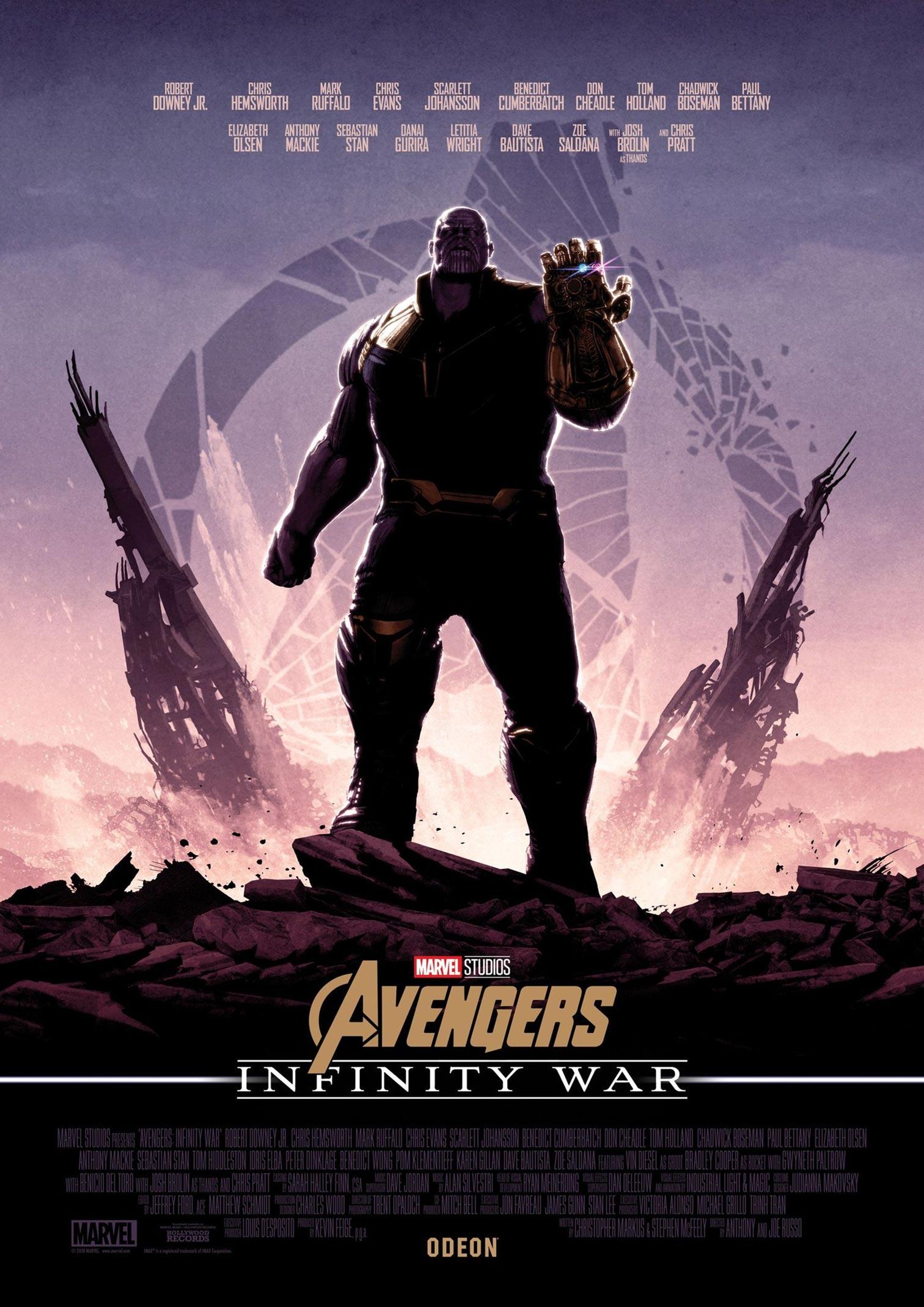 Avengers: Infinity War Poster #32