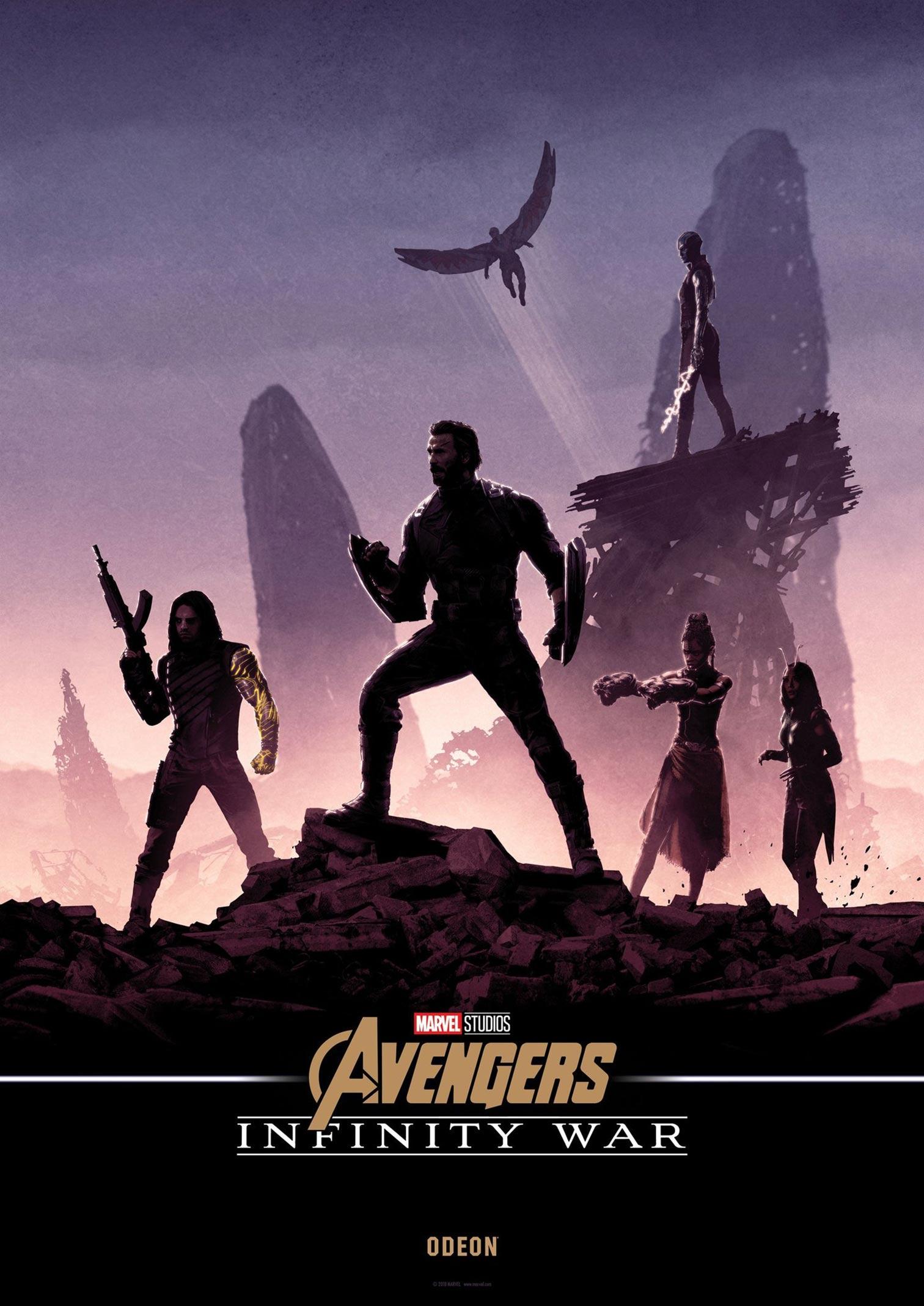 Avengers: Infinity War Poster #33