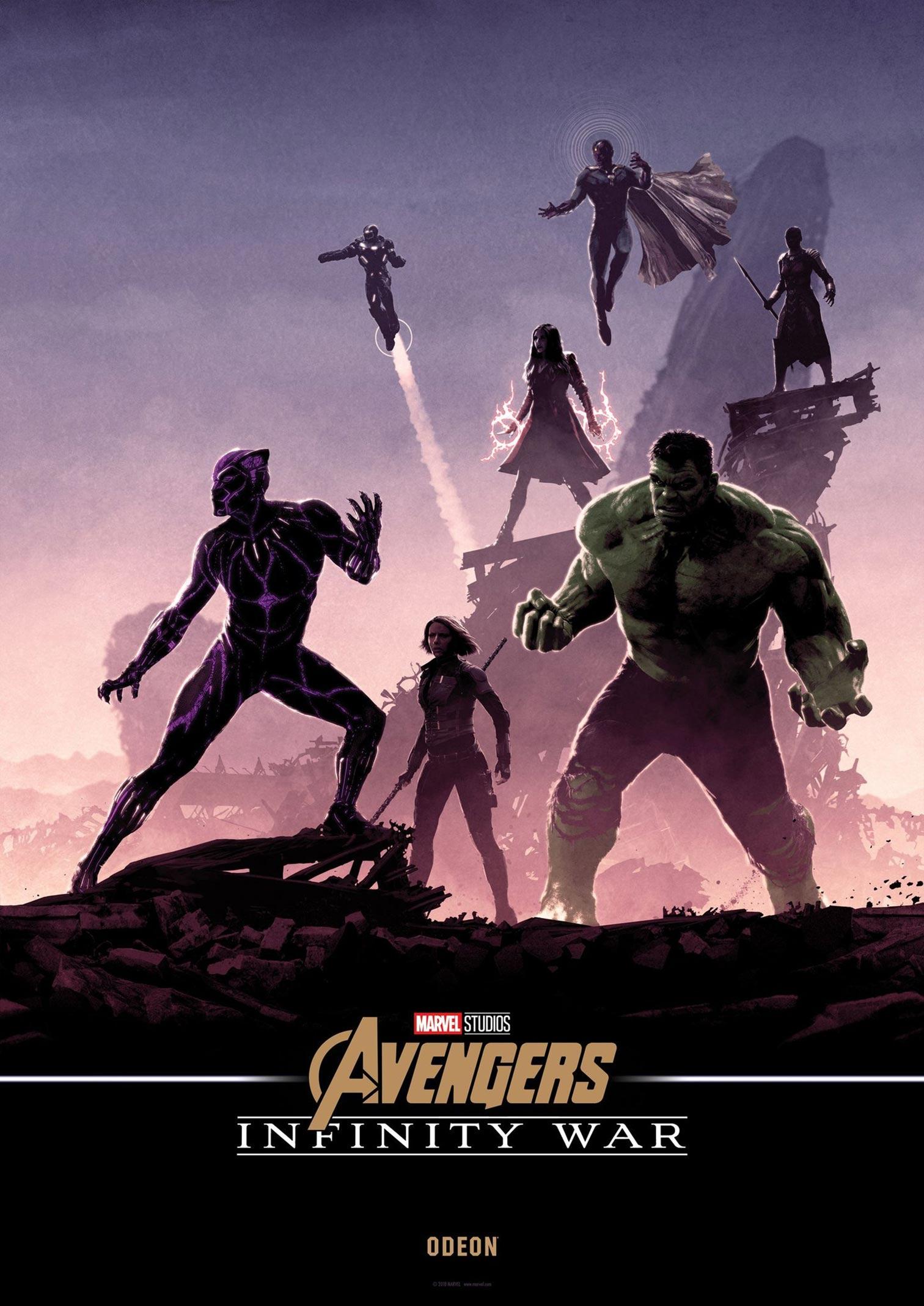 Avengers: Infinity War Poster #34