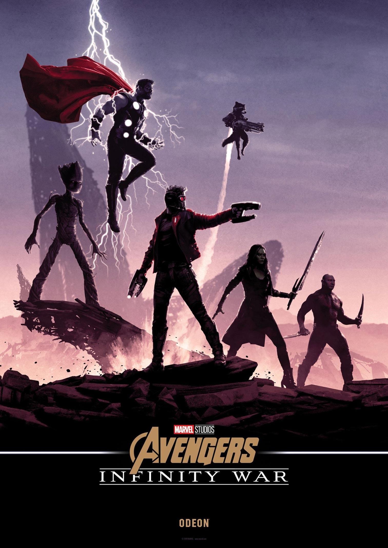 Avengers: Infinity War Poster #35