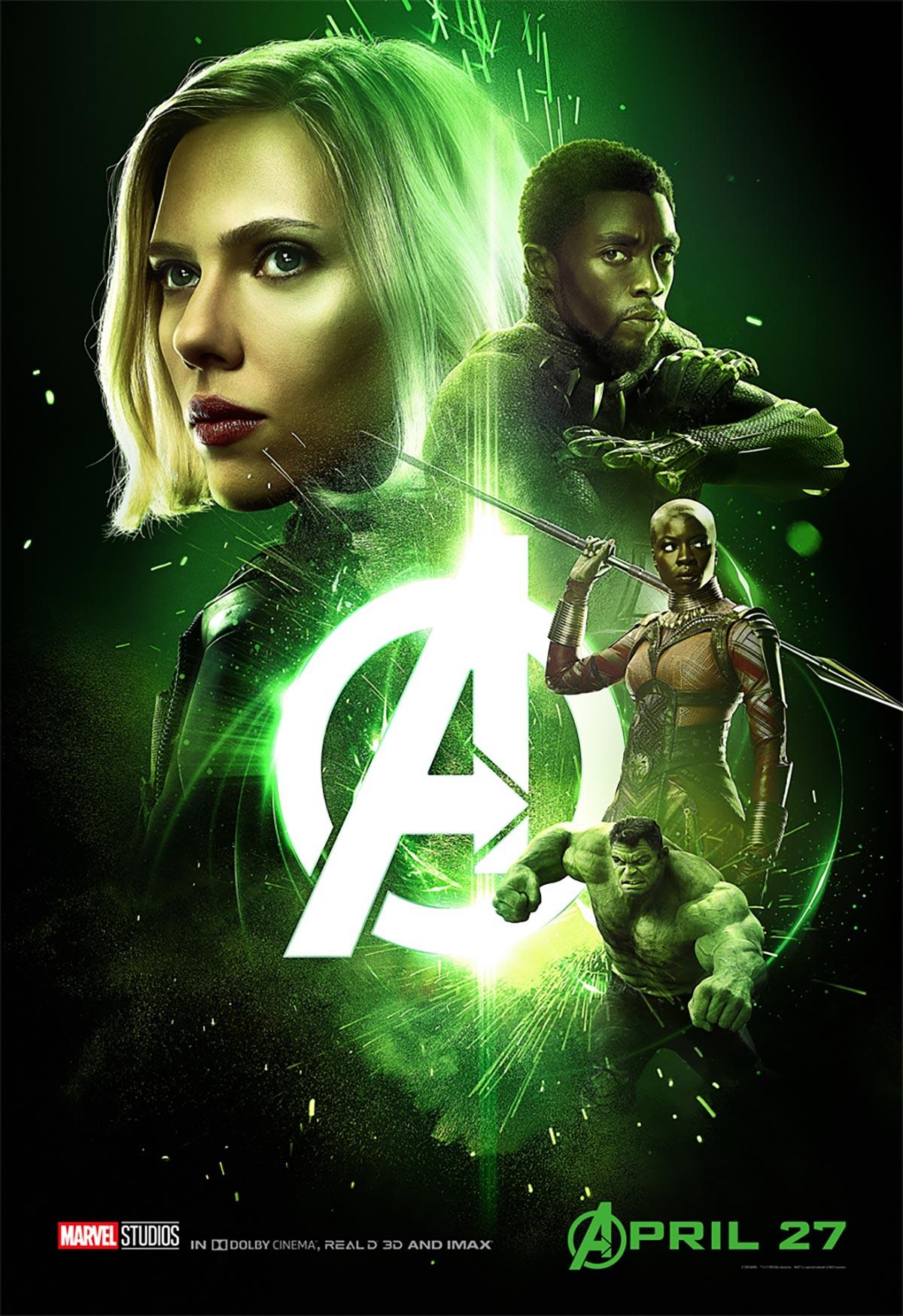 Avengers: Infinity War Poster #4