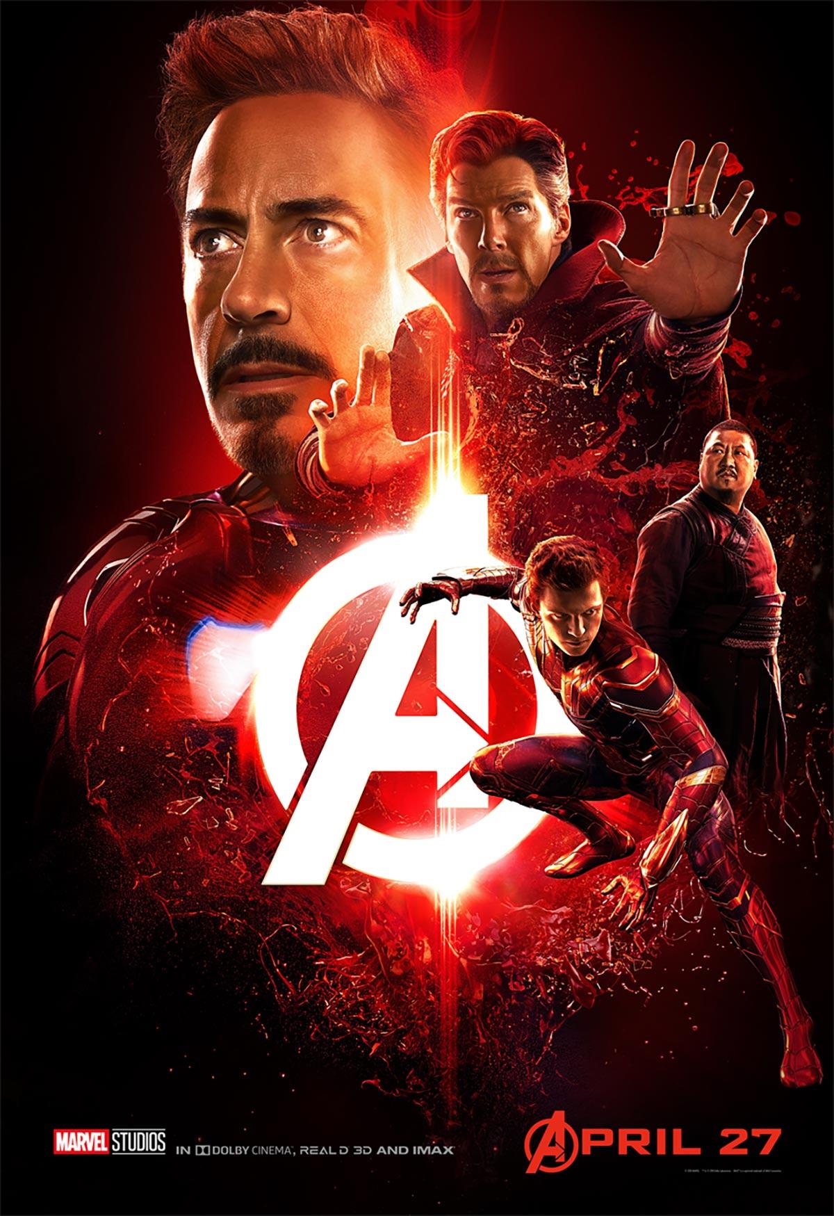 Avengers: Infinity War Poster #6