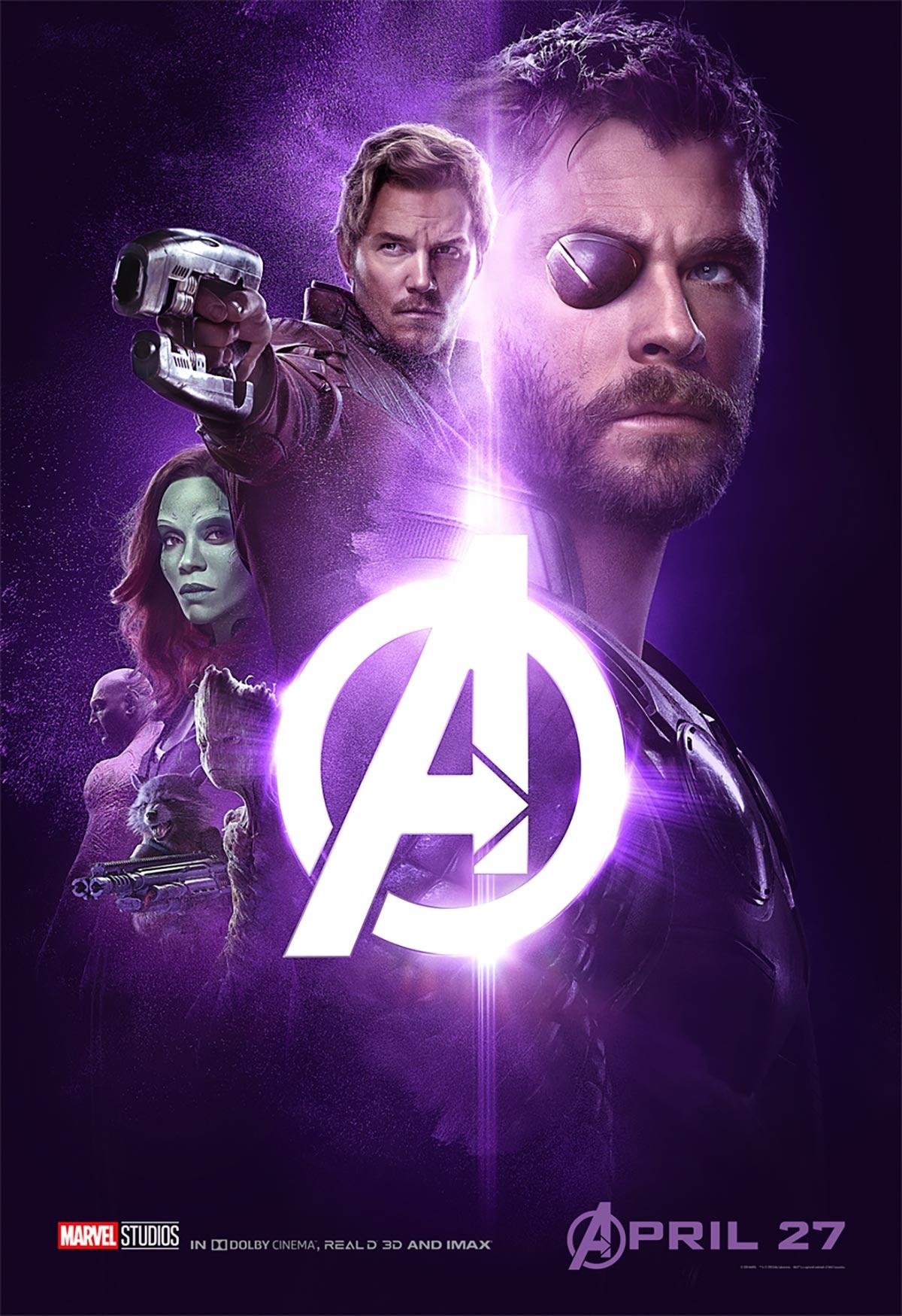 Avengers Infinity War 2018 Poster 8 Trailer Addict