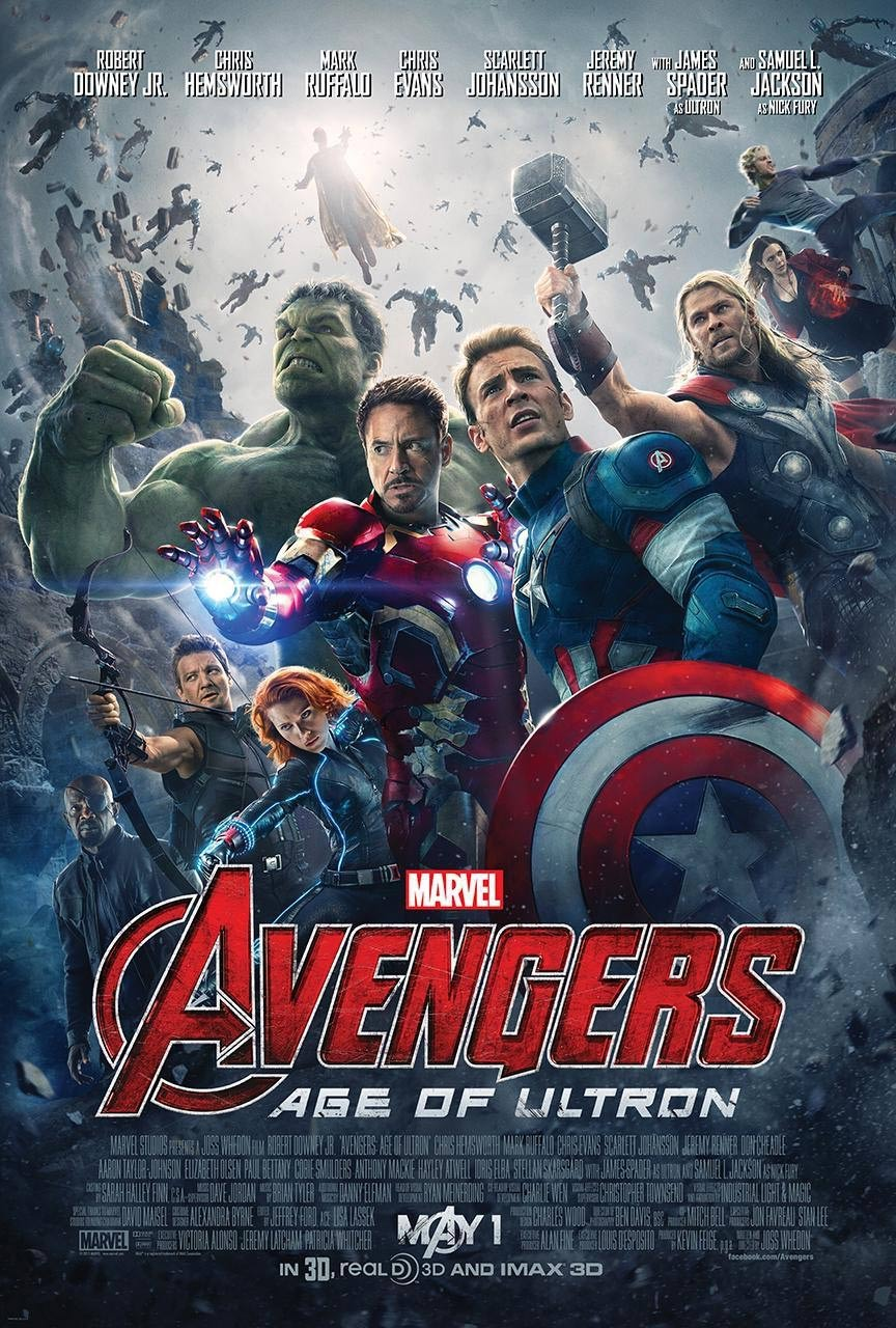 Avengers: Age of Ultron Poster #11