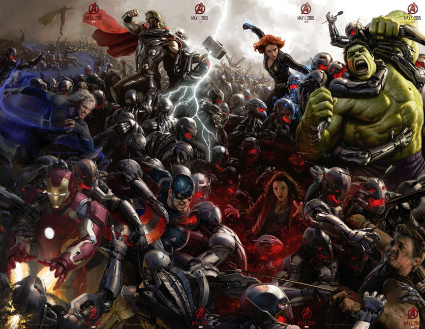 Avengers: Age of Ultron Poster #2