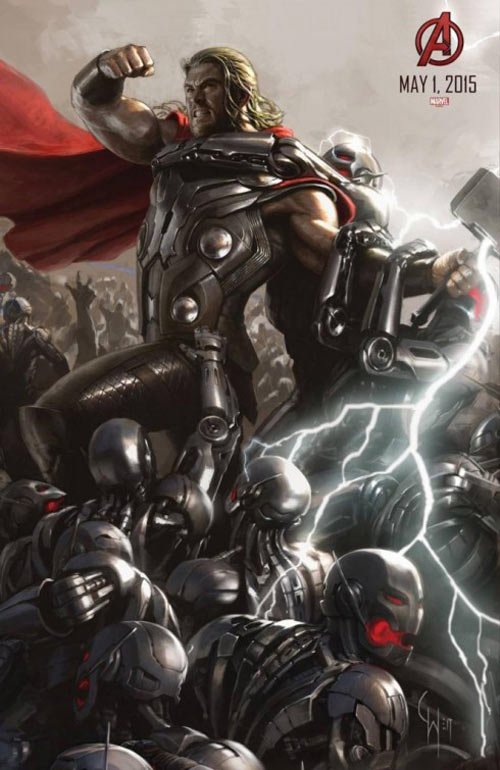 Avengers: Age of Ultron Poster #4
