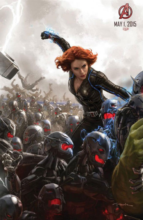 Avengers: Age of Ultron Poster #5