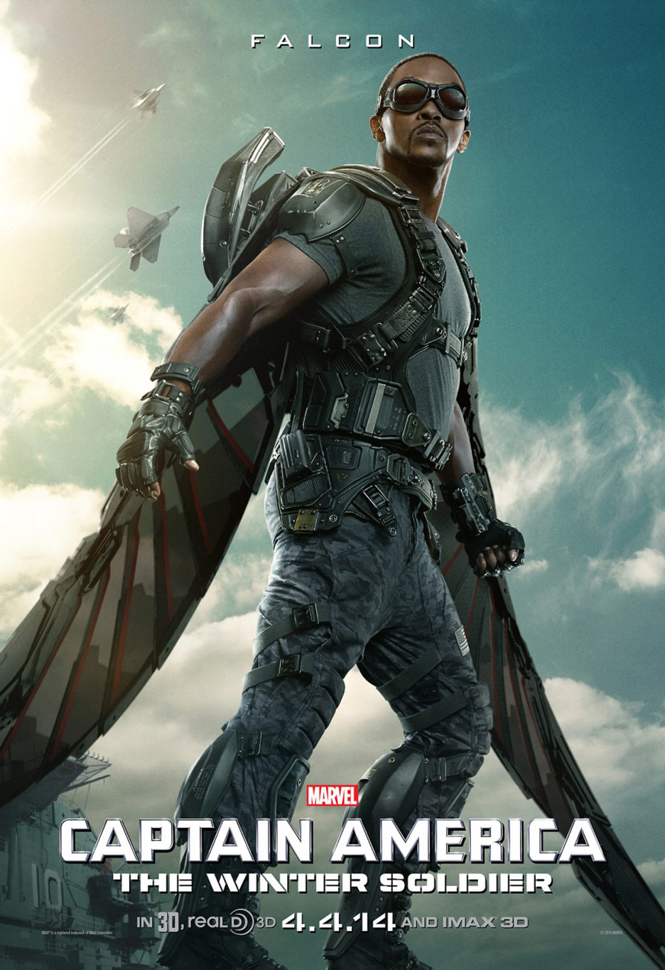 Captain America: The Winter Soldier Poster #11