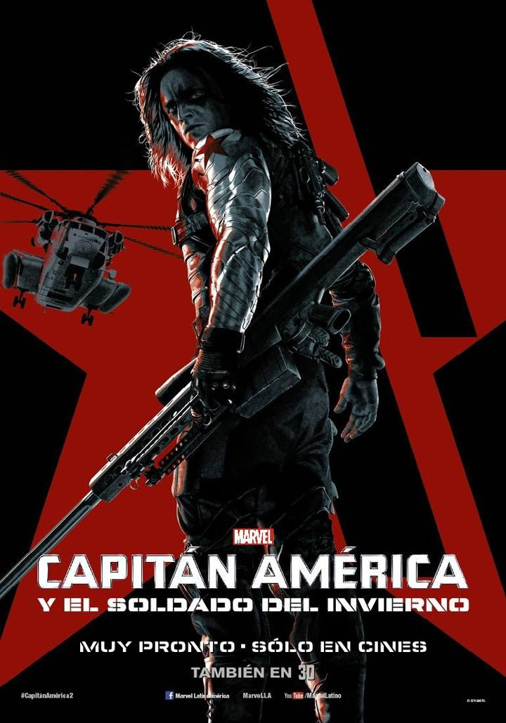 Captain America: The Winter Soldier Poster #13