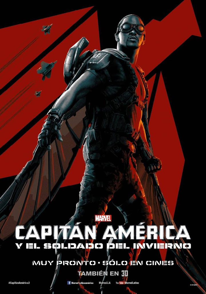 Captain America: The Winter Soldier Poster #14