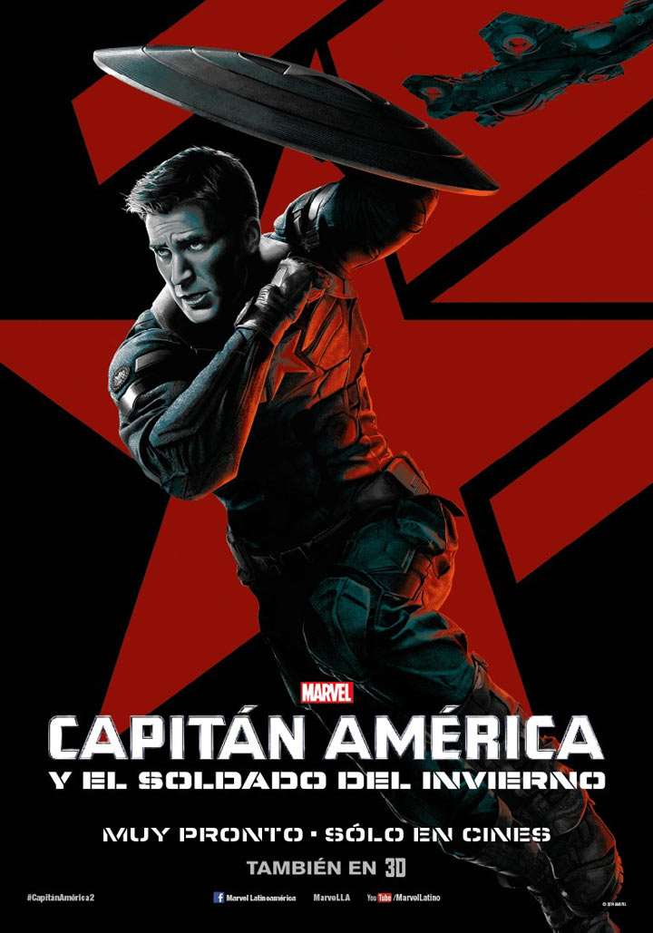 Captain America: The Winter Soldier Poster #17