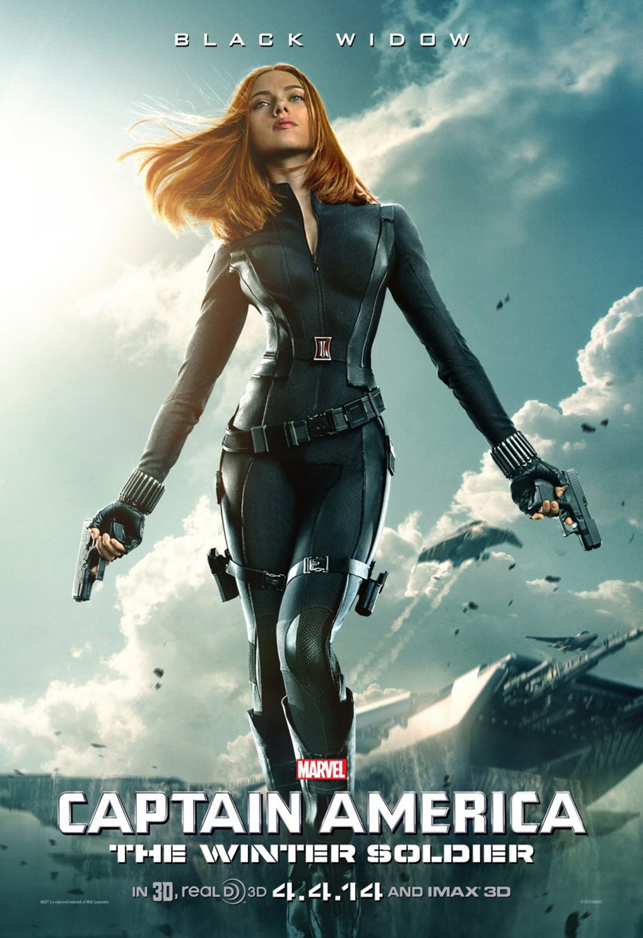 Captain America: The Winter Soldier Poster #5