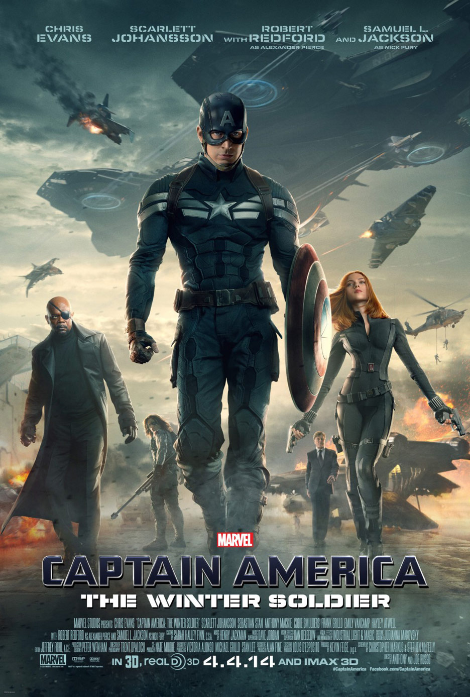Captain America: The Winter Soldier Poster #7