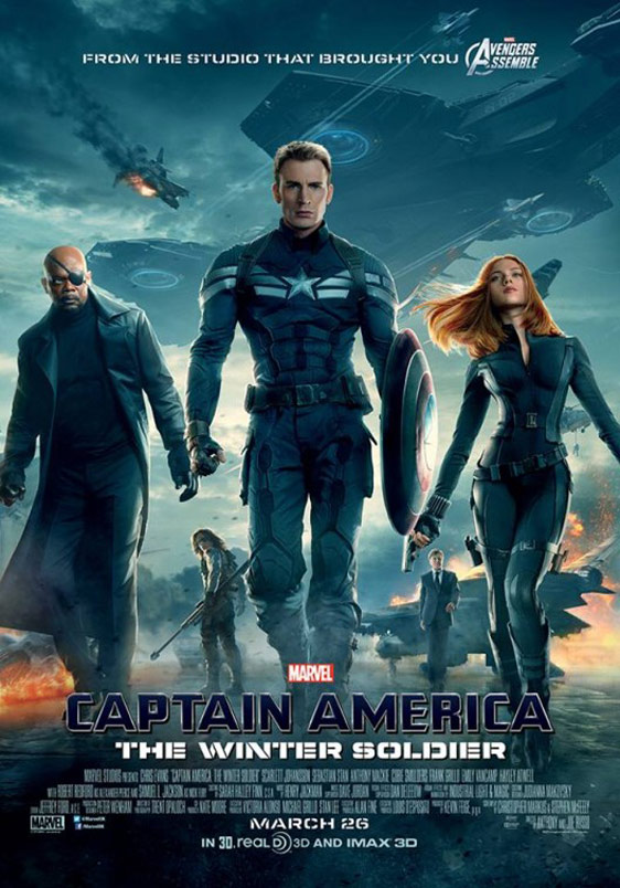 Captain America: The Winter Soldier Poster #8