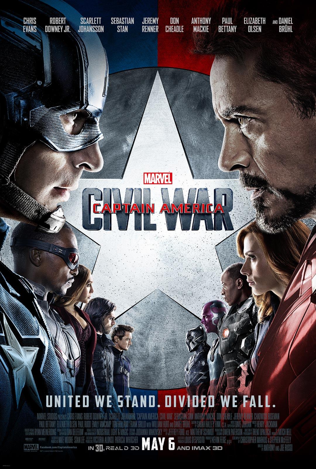 Captain America: Civil War Poster #15