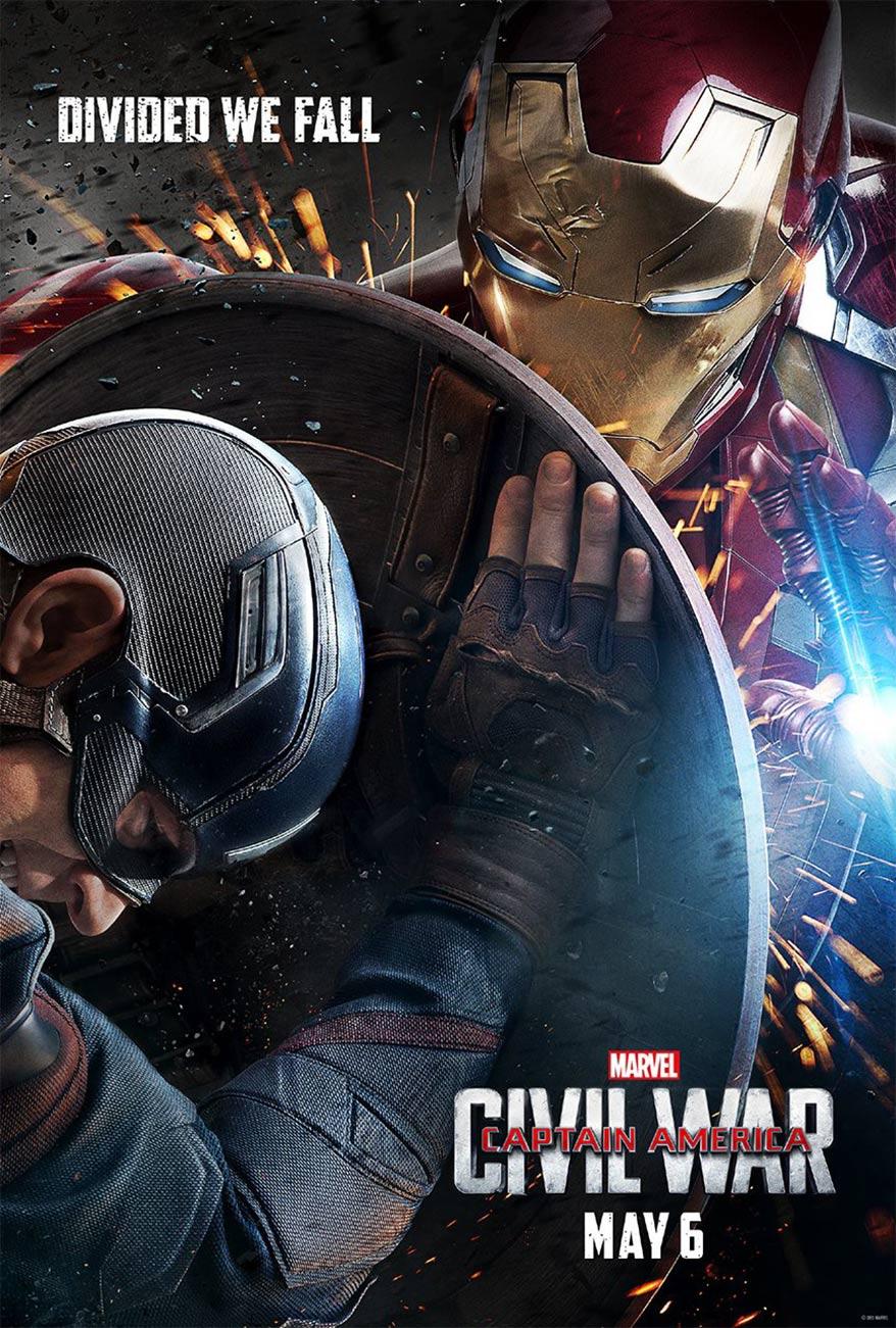 Captain America: Civil War Poster #3