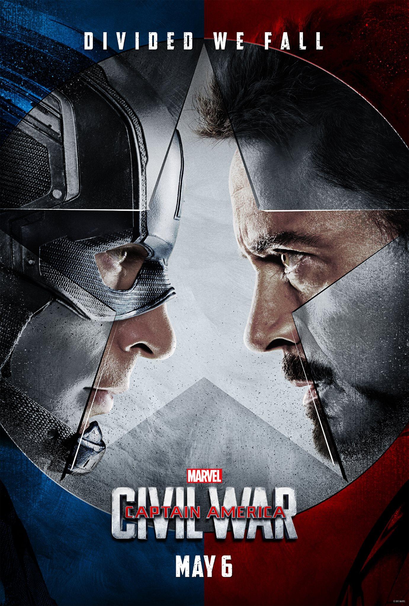 Captain America: Civil War Poster #1