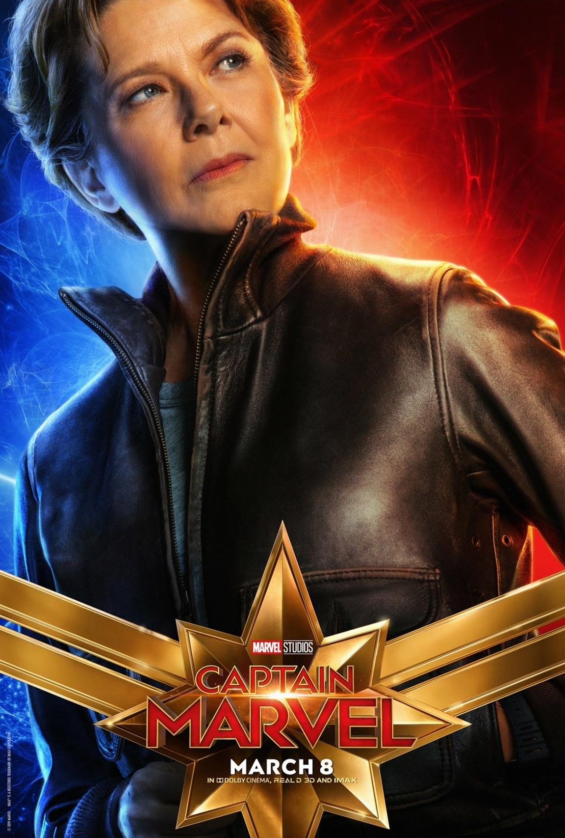 Captain Marvel Poster #10