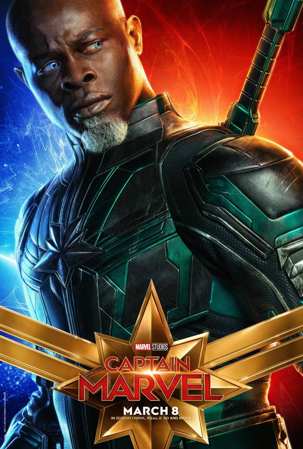 Captain Marvel 2019 Poster 11 Trailer Addict