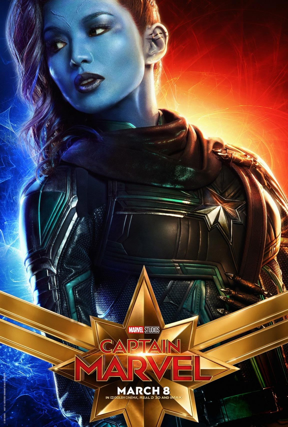Captain Marvel Poster #12