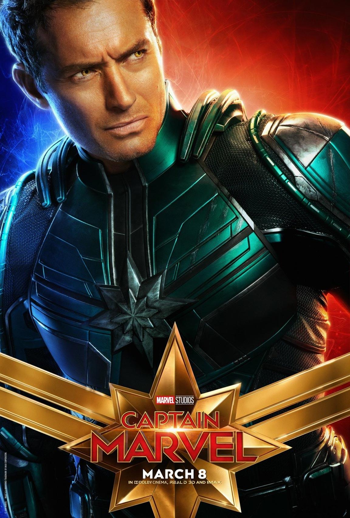 Captain Marvel Poster #14