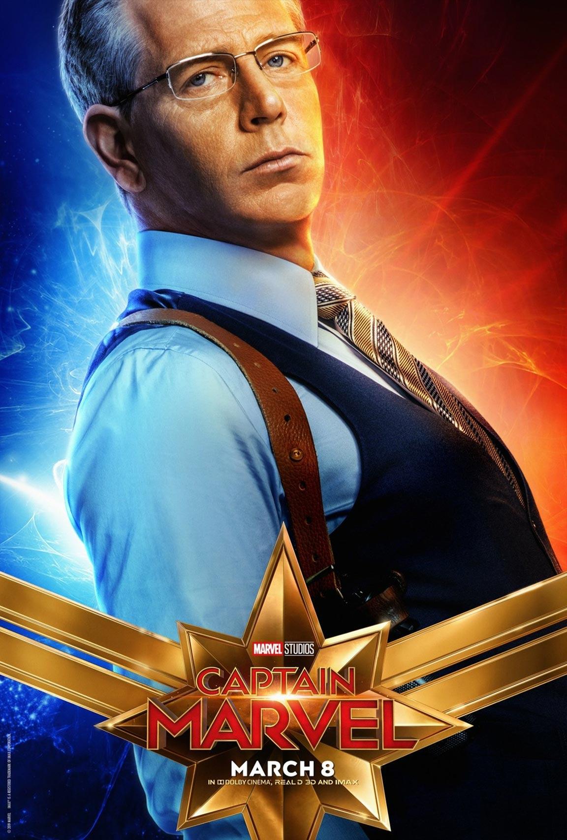 Captain Marvel Poster #15