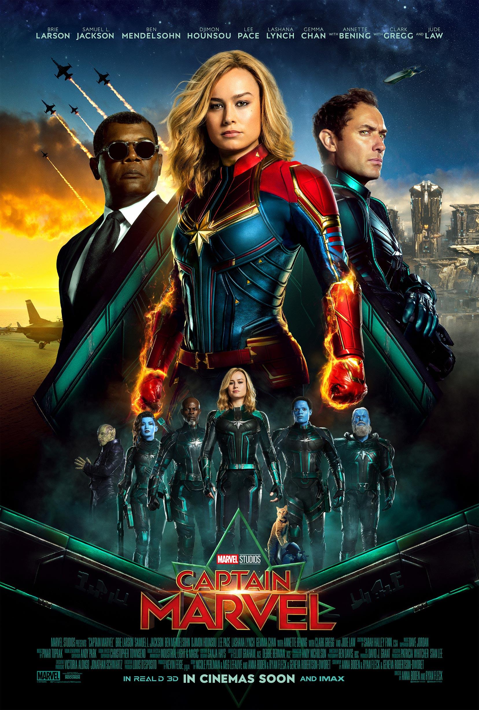 Captain Marvel Poster #18
