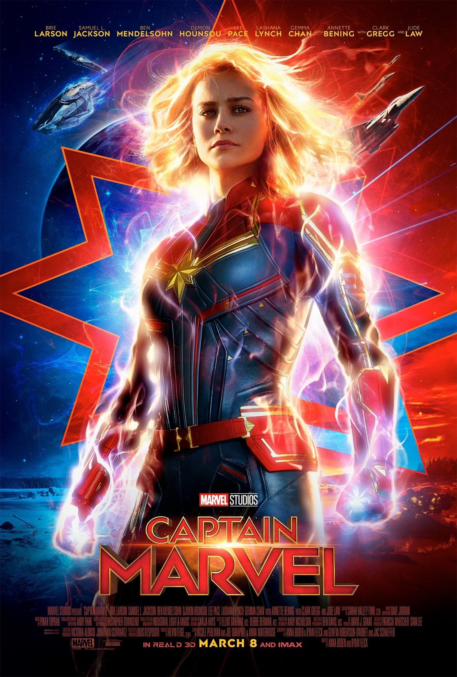 Captain Marvel Poster #2