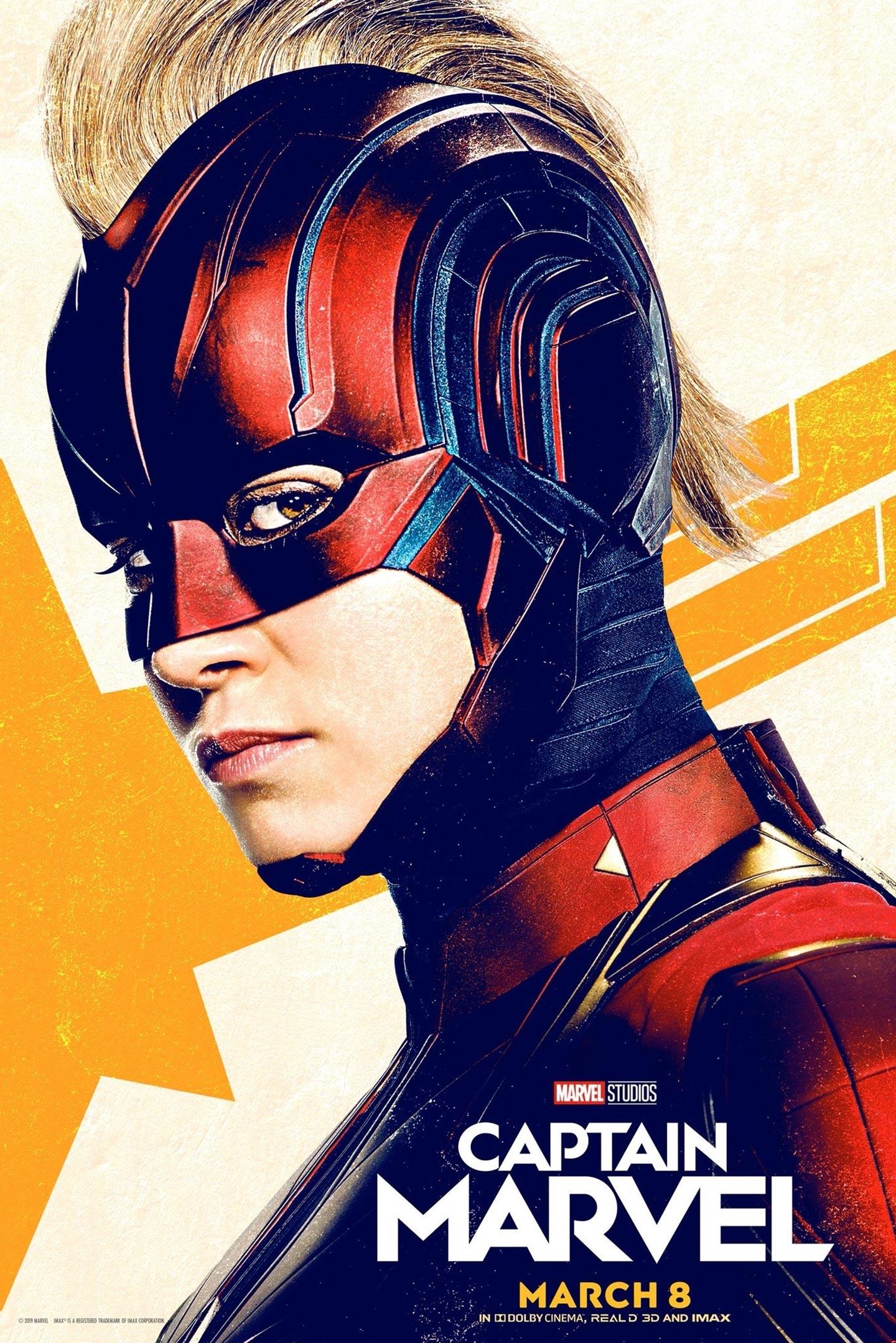 Captain Marvel Poster #20