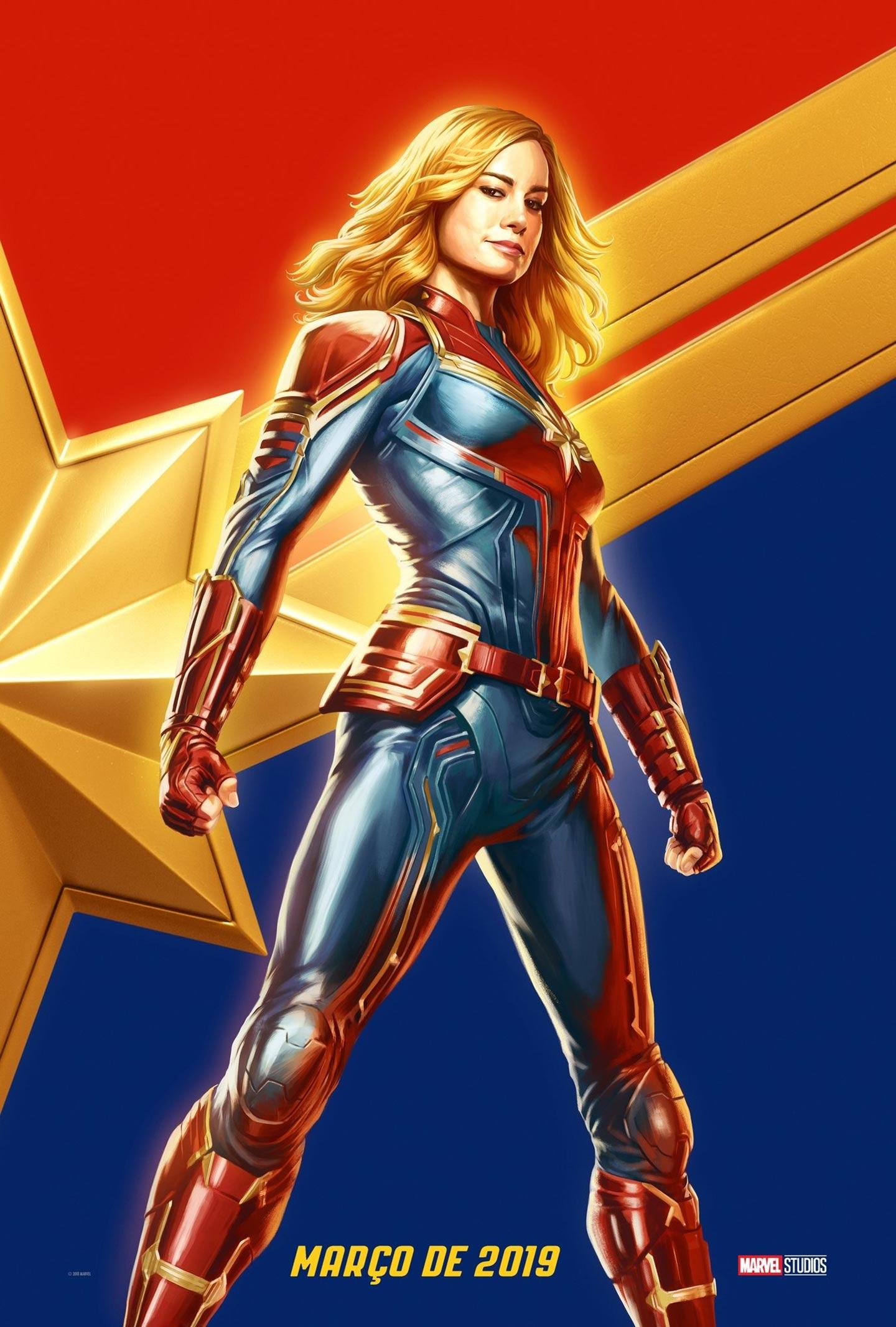 Captain Marvel Poster #3